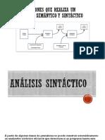Análisis sintáctico-exposicion
