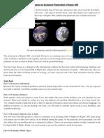 WorldCongressonEcologicalPreservationofKepler-186f