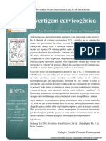 a6fcfb45d3f3 Cervicogenic Dizziness Vertigem Cervicogênica