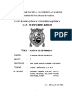 2003 - Industrializacion de Esparragos