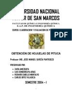 2007 - Industrializacion de La Pituca