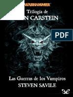 Trilogía de Von Carstein. Las Guerras de los Vampiros de Steven Savile r1.0.pdf