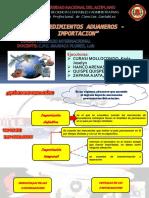 PROCEDIMIENTOS ADUANEROS-IMPORTACION