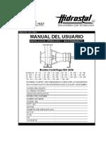 Manual Bombas Centrífugas ISO 2858