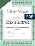 ptso certification 2018-2019