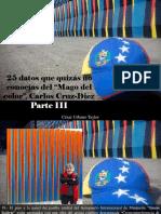 César Urbano Taylor - 25 Datos Que Quizás No Conocías Del Mago Del Color, Carlos Cruz-Diez, Parte III