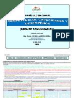 2019 Competencias Comunicación Cneb Analizado en Malla