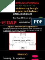 BME en Una Extraccion Lquida y Destilacion