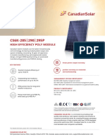 Datasheet module CS6K-285-295P.pdf