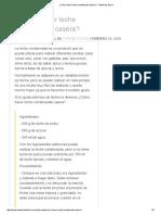 ¿Cómo Hacer Leche Condensada Casera_ - Industrias Iberia