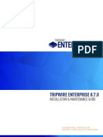 TRIPWIRE ENTERPRISE 8.7.0 - INSTALLATION & MAINTENANCE GUIDE.pdf