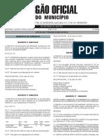 Diário Oficial de Maringá em 01 de agosto de 2019