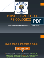 PRIMEROS AUXILIOS PSICOLOGICOS