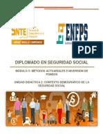 u2 m5 Contexto Demografico de La Seguridad Social