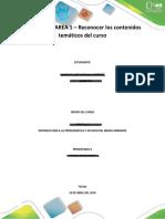 Tarea 1. Reconocer Los Contenidos Tematicos Del Curso.