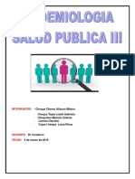 Informe Epidemiologia