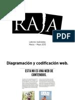 Presentación Revista Raja