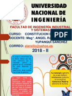 Constitucion Fiis 2018 II