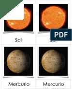 Sistema Solar Asocia Imagen Vocabulario(5)