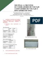 Informe Final de Electronicos 1