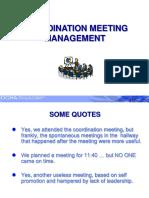 Coordination Meeting Management_0.ppt