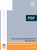 politicas de reinserción post penitenciaría