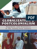 Rowman Littlefield. Globalization and Postcolonialism .Sankaran Krishna. (2008).pdf