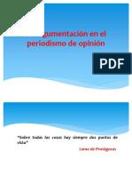 6 A - La argumentación en el periodismo.ppt