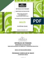 Program de Ingles MEDUCA, Panamá 2013