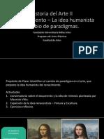 04. Clase 04 - Expasición de La Idea Humanista.