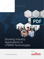 Growing Industry Applications of LPWAN Technologies