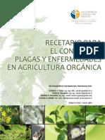 Recetario para el control d plagas y enfermedades en agricultura orgánica