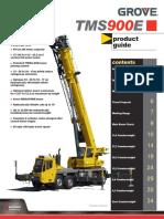 v3sh7djz0s7gj4b3grove Tms900e 90-Ton Hydraulic Truck Crane Network