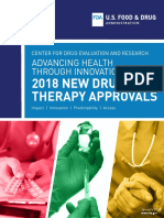 New Drug Therapy Approvals 2018
