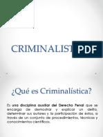 Criminalistica, Criminologia y Intro Odontologia Forense