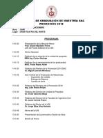 Programa Ceremonia de Maestria Ff
