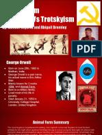 animal farm stalinism vs trotskyism