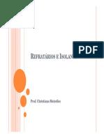 Refratários e Isolantes - Aula INT.pdf