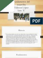 Fundamentos Del Ecuavoley