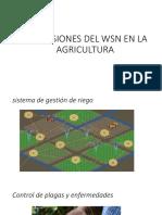 Aplicasiones Del Wsn en La Agricultura