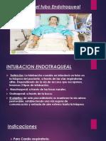 Cuidados de Enfermería en Paciente Con Tubo Endotraqueal