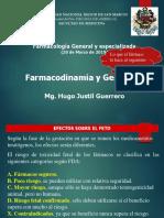 Farmacodinamia y Gestacion