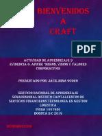 """Evidencia 5 Afiche """"Misión, Visión y Valores Corporativos"""""""