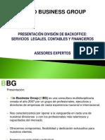 Presentacion Servicios Backoffice BBG