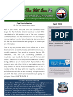 DCPU - CID Newsletter - Year in Review 2019
