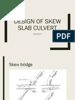 skew bridge design .pptx