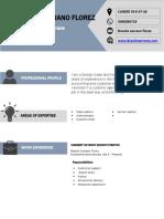 Curriculum Vitae Format (1)