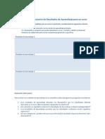 formulación de resultados de aprendizaje