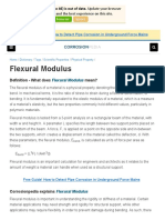 What is a Flexural Modulus_ - Definition From Corrosionpedia
