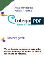 Língua Portuguesa VERBO Parte I